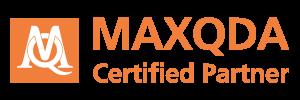 Certified Partner Logo 300x100 - Software MAXQDA