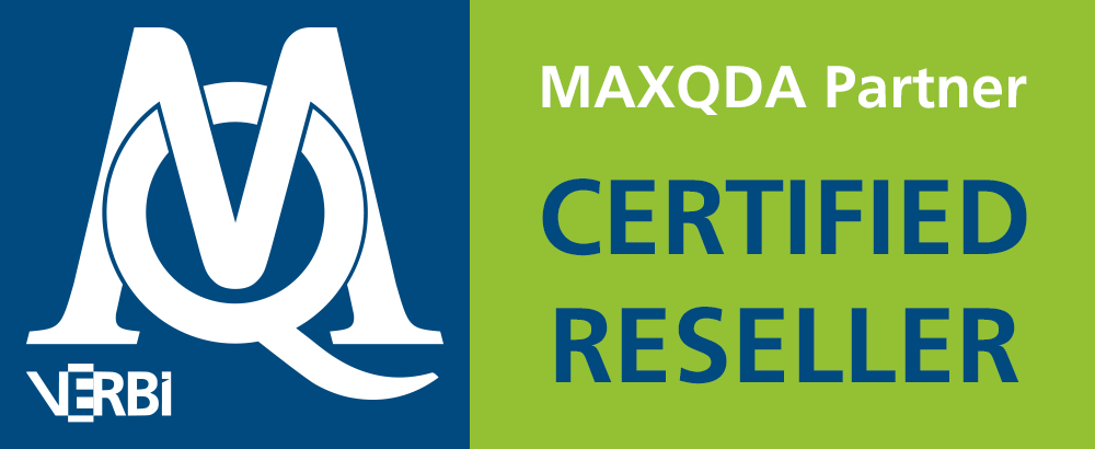 00 MAXQDA Certified Reseller - Software